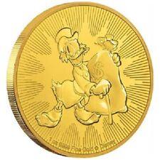 Niue - 250 Dollar 2018 - Disney™ Dagobert Duck™ - Anlagemünze - 1 Oz Gold ST