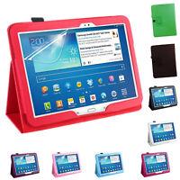 1X(Pu Ledertasche Für Samsung Galaxy Tab 3 10.1 P5200 P5210 P5220 Tablet FaX2F8)