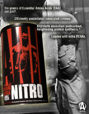 UNIVERSAL ANIMAL NITRO 44 PACKS ANABOLIC AMINO ACIDS BCAA EEA