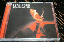 LITA FORD Greatest hits live ! !!! STEAMHEMMER Rec MUSSS ex RUNAWAYS