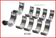Engine Crankshaft Main Bearing Set ENGINETECH, INC. BC108J020