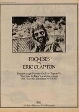 Eric Clapton Promises UK '45 advert 1978 MM-LKJH