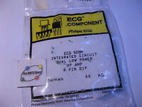 ECG928M IC Philips-ECG OpAmp Replaces NTE928M Plastic - NOS Qty 1