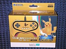 NEW Wii U Pokken Tournament Gamepad Pro Controller Pokemon Pikachu GOLD Switch