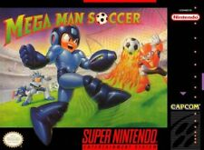 Mega Man Soccer (US Version) - SNES (Inkl. Anleitung)