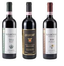 SET 3 VINI ROSSI Degustazione Valtellina INFERNO, SASSELLA E SFURSAT Bettini