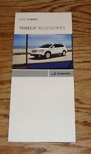 Original 2008 Subaru Tribeca Accessories Foldout Sales Brochure 08