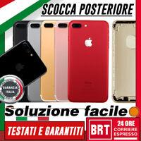 SCOCCA POSTERIORE+SLOT+PULSANTI Apple iPhone 7 PLUS BACK COVER COPRI BATTERIA!!!