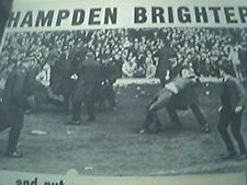 news item 1972 football game continues glasgow injured fans