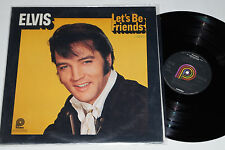 ELVIS PRESLEY -Let's Be Friends- LP RCA Camden ‎(CAS-2408)  1970