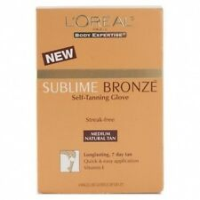 L'oreal Sublime Bronze Self Tanning Glove, Medium Natural Tan (4 Gloves)