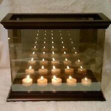 Partylite INFINITE REFLECTIONS TEALIGHT HOLDER  w 5 TIER TEALIGHT HOLDER