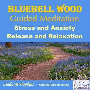 Guided Meditation CD Bluebell Wood Stress and Anxiety Release and Relaxation CD