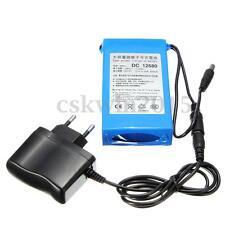 Super Power DC 12V Portable 6800mAh Li-ion Rechargeable Battery Pack + EU Plug