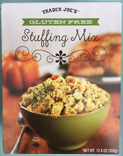 Trader Joe's Gluten Free Stuffing Mix Thanksgiving Side (4 Pack) 12.4oz each box