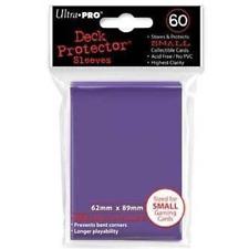 Ultra Pro Small Purple Deck Protector 60ct