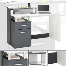 Schreibtisch OFFICE #890 WEISS GRAU Computertisch PC-Tisch Kindertisch Bürotisch