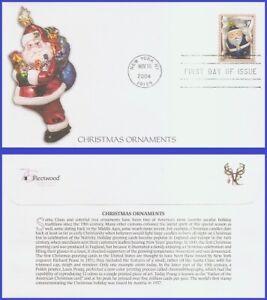 USA5 #3885 U/A FLEETWOOD FDC   Blue Santa Ornament