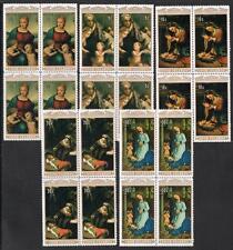COOK ISLANDS MNH 1974 SG500-04 Christmas Blocks of 4 Set