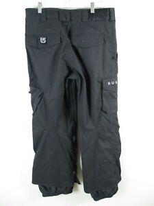 Nice Burton Ronin Men's Black Snowboard Pant Snow ski Outerwear sz M Medium