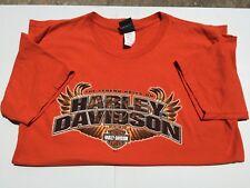 Harley Davidson Las Vegas NV XL Orange