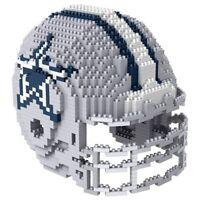 NFL DALLAS COWBOYS 3D PUZZLE HELM, FOCO BRXLZ FOOTBALL HELMET FOOTBALLHELM