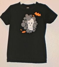 AMERICAN APPAREL baby boys top Size 2 Halloween skeleton bats brand name black