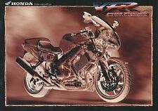 Honda VFR Prospekt 1998 10/98 brochure Motorradprospekt prospetto prospecto moto