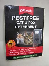 Nouveau rentokil pestfree chat et & fox dissuasion ultrasonique FC78