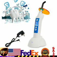 Dental Teeth Led Curing Light Lamp Cordless Composite Resin Cure 1500mwcm Usa