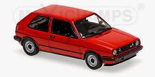 wonderful modelcar VOLKSWAGEN VW GOLF GTI 1985 - r e d  - 1/43 - lim.ed.