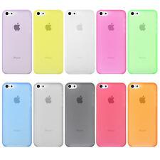 iPhone SE 5 5s  Farbwahl Ultra Slim Case 0,3mm Dünn Cover Schutz Hülle Matt