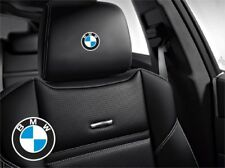 5x Bmw Sticker logo for leather seats and other flat and smooth surfaces