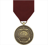 GENUINE U.S. FULL SIZE MEDAL: NAVY GOOD CONDUCT
