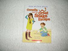 Kids cool paperback gr 2-5:Cornelia & The Great Snake Escape-pet snake gets out!
