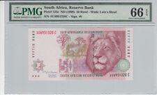 SOUTH AFRICA P.125c - 50 Rand ND1999 PMG 66 EPQ