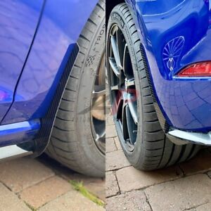 VOLKSWAGEN GOLF MK7.5 CARBON FRONT & REAR ARCH GUARDS/MUD FLAPS  AP DESIGN
