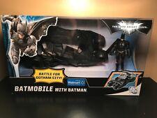 THE DARK KNIGHT RISES BATMOBILE WITH BATMAN WALMART EXCLUSIVE