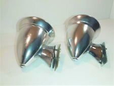 Pair of Vintage Speed Mirrors - Unipart - Talbot Style