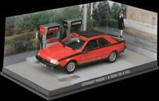 ALTAYA JAMES BOND 007 COLLECTION - RENAULT FUEGO TURBO RED 1:43 SCALE.