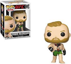 FUNKO POP VINYL UFC MMA CONOR MCGREGOR #07 VAULTED *