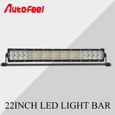 "22INCH 2688W Quad-Row LED Light Bar Spot Flood Beam For Jeep FORD Truck 23""20"""
