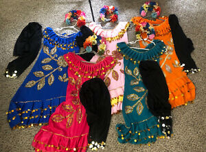 Professional Bellydance Costume 5 eskandarani galabeya Melaya laff Egypt Dress
