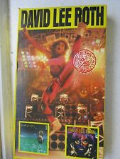 DAVID LEE ROTH VHS TAPE JUST A GIGILO CALIFORNIA GIRLS