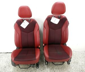 12-15 Hyundai Veloster Front Seat Left Right Pair Manual OEM Cloth & Leather