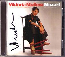 Viktoria MULLOVA Signiert MOZART Violin Concerto 1 3 4 PHILIPS CD Violinkonzerte
