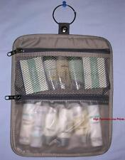 New SAMSONITE Small Clear Carry-on Toiletry Bag SEE-THRU Makeup Travel Kit Pouch