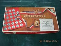 Vintage 1965 Meet the Presidents Board Game Selchow & Righter Company COMPLETE