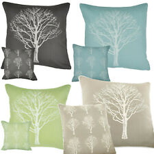 Woodland Trees. Cushion Cover  43x43cm Choice of Colours