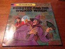 VINTAGE THE WIZARD OF OZ DOROTHY AND THE WICKED WITCH STORY 1980 BOOK SOFTCOVER
